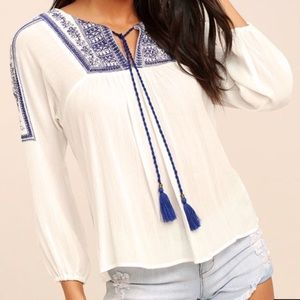 Tops - Lulu's Summer top.